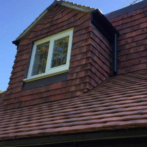 House With A New Tiled Roof By LDN Leadwork