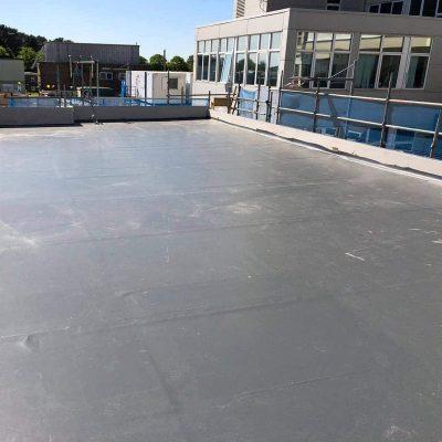 Single ply flat roof by LDN Leadwork